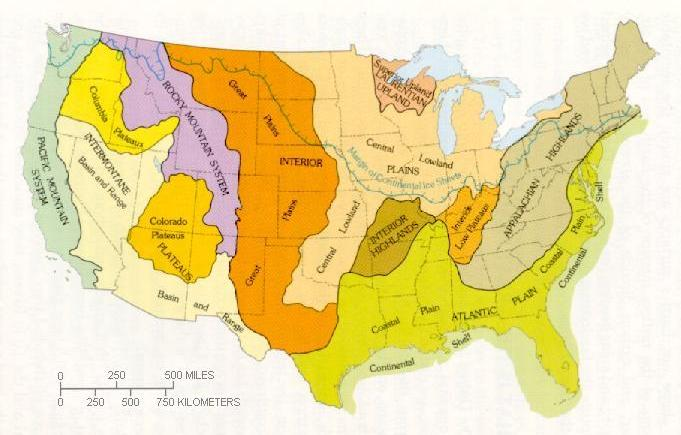 North America Map With States Labeled in addition United States Map ...