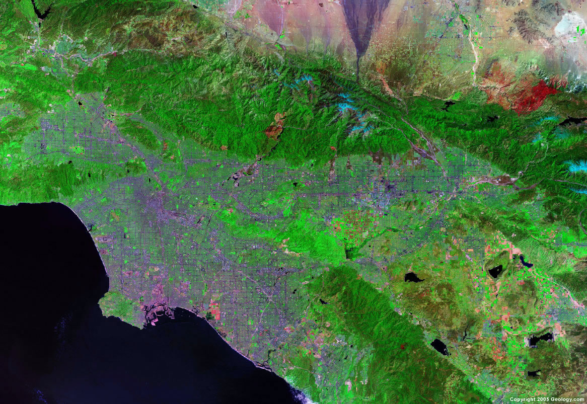 Council For Watershed Health MAP LIBRARY Los Angeles Metropolitan - Los angeles california map united states