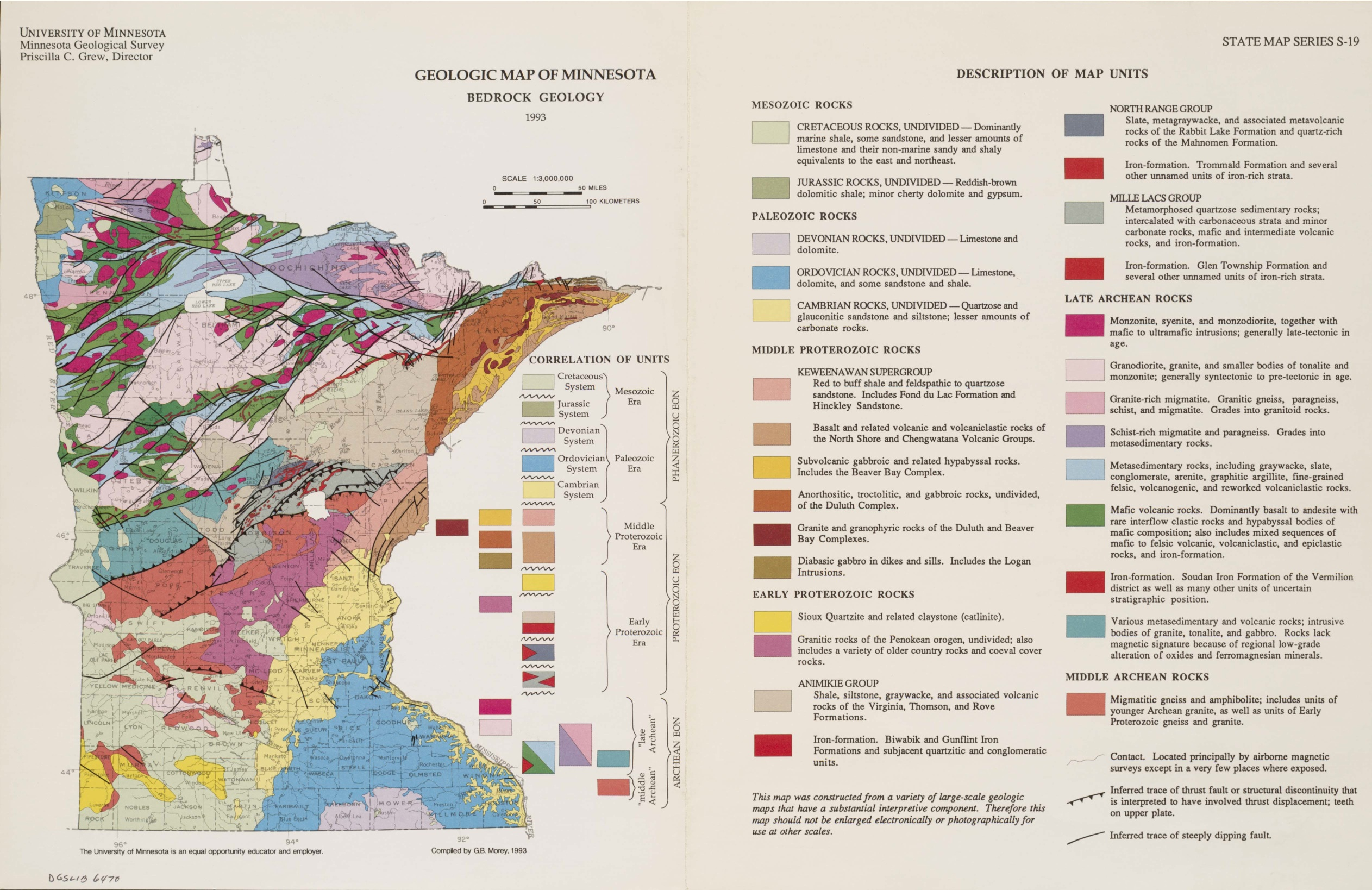 Small Geology Map Minnesotajpg - Mn maps