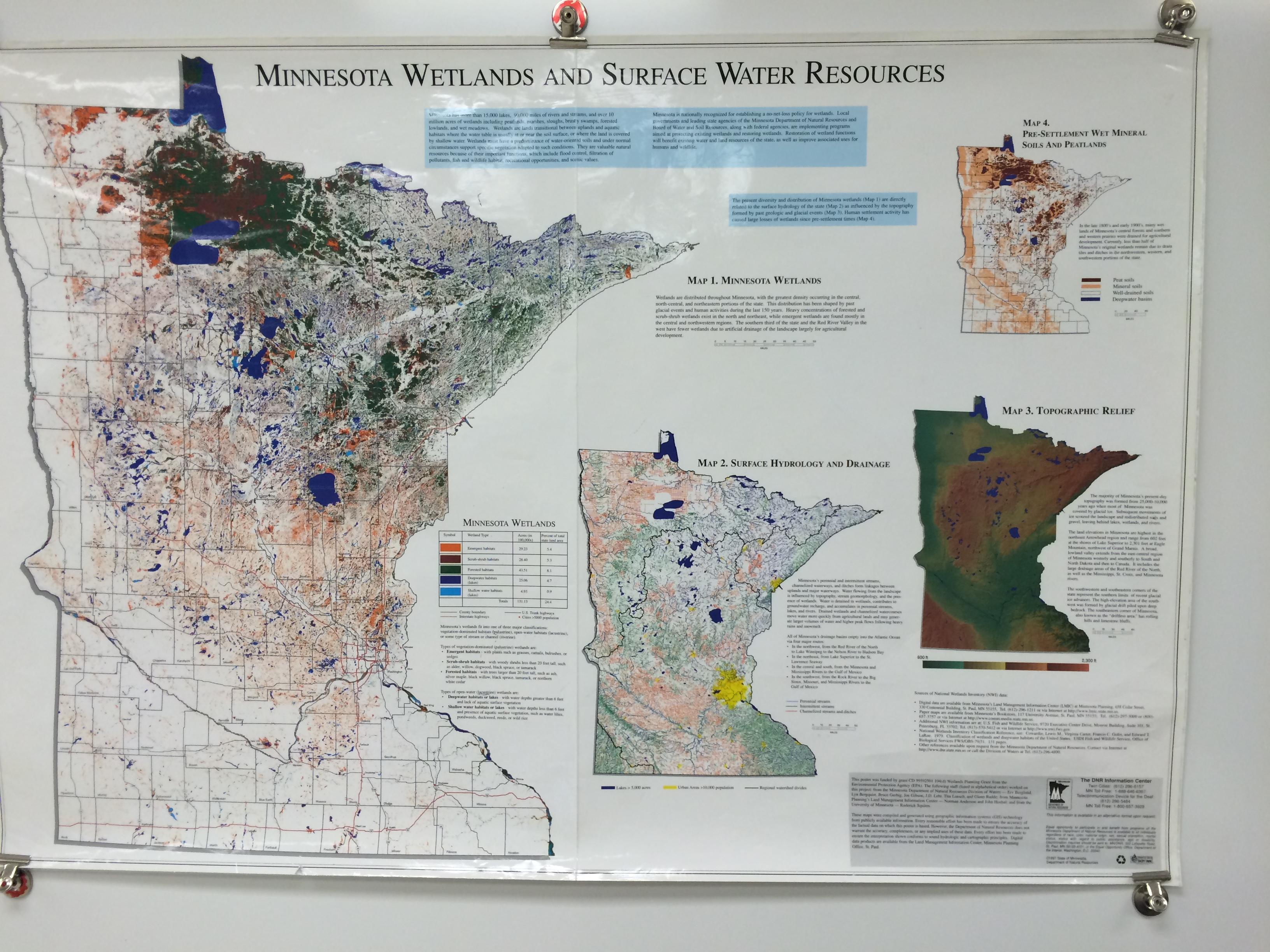 Minnesota Geography EX Biomes