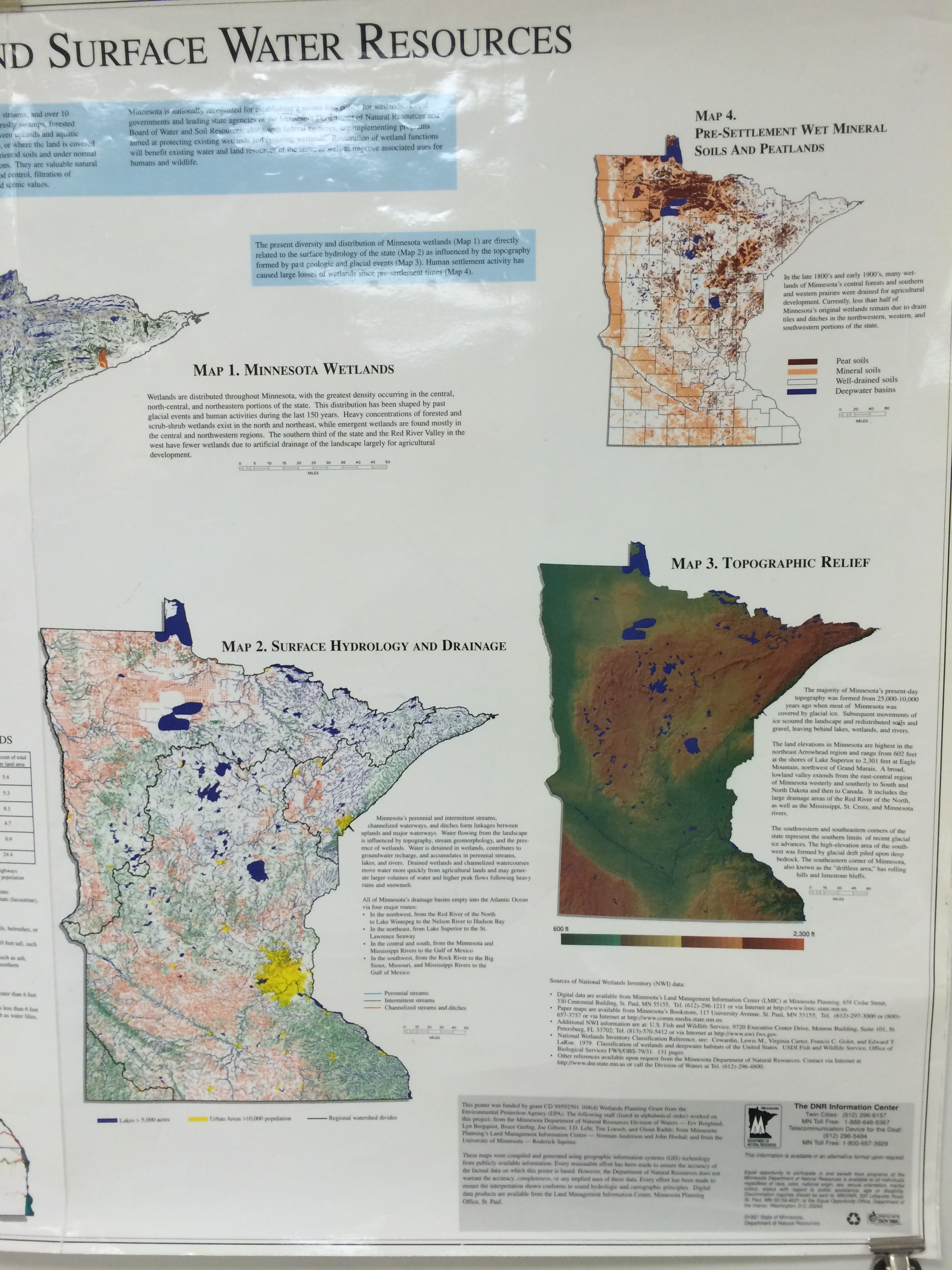 Minnesota Geography EX Biomes