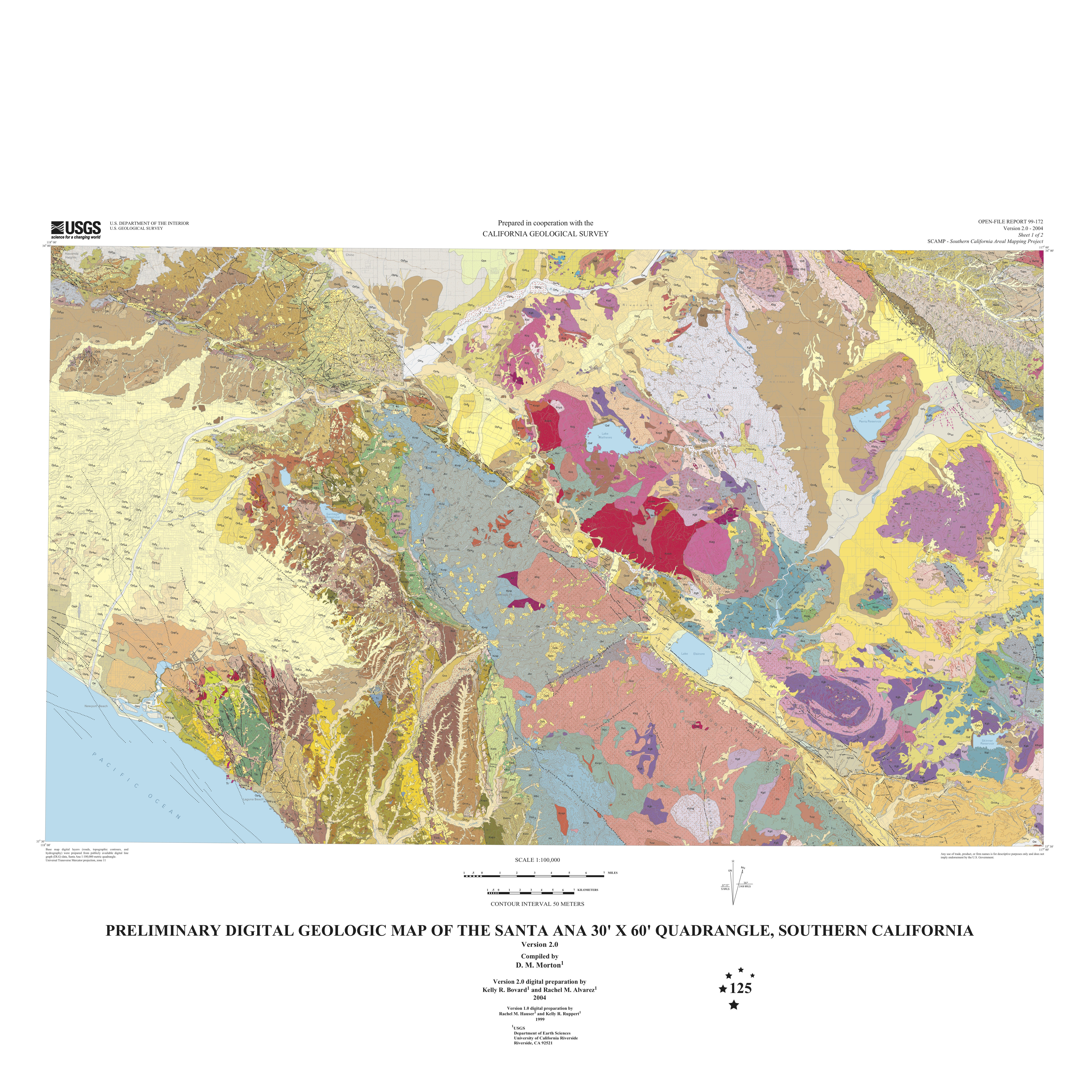 Los Angeles Geology Maps